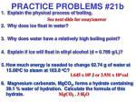 practice problems 21b