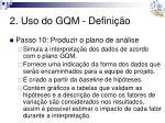 2 uso do gqm defini o13
