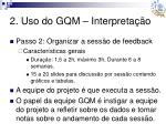 2 uso do gqm interpreta o3