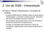 2 uso do gqm interpreta o4