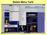 sistem menu tarik