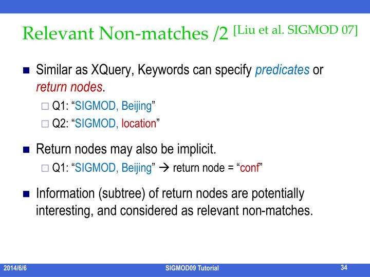 Relevant Non-matches /2