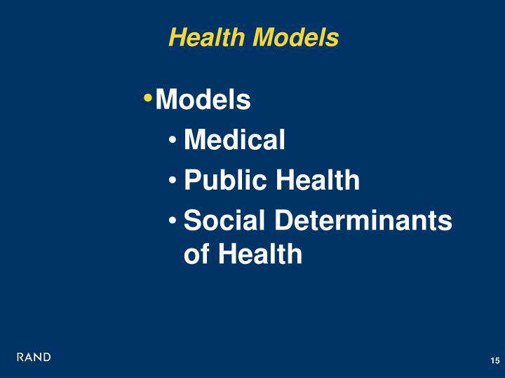 Health Models