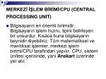 merkez lem b r m cpu central processing unit