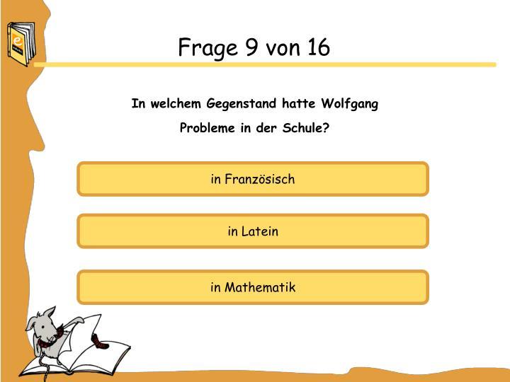 Frage 9 von 16