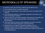 microskills of speaking14