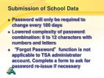 submission of school data2