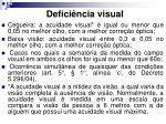 defici ncia visual