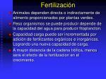 fertilizaci n