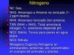 nitrogeno