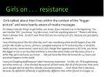 girls on resistance