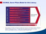 sconul seven pillars model for info literacy