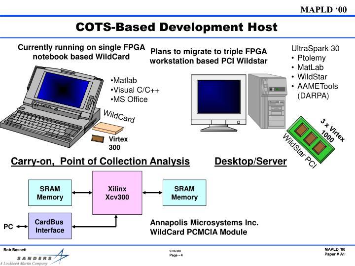 COTS-Based Development Host