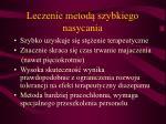 leczenie metod szybkiego nasycania3