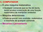 5 computador