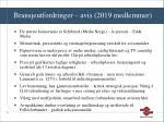 bransjeutfordringer avis 2019 medlemmer
