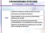 cronograma syscore1