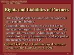 rights and liabilities of partners1