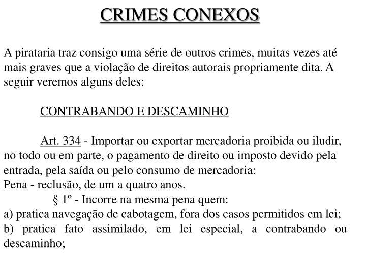 CRIMES CONEXOS