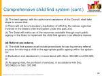 comprehensive child find system cont1