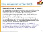 early intervention services cont3