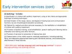 early intervention services cont4