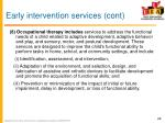 early intervention services cont8