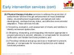 early intervention services cont9
