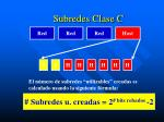 subredes clase c1