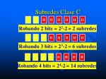 subredes clase c2