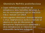 glom rulo nefritis postinfecciosa