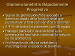 glomerulonefritis r pidamente progresiva