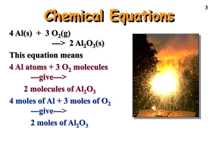 Chemical equations1