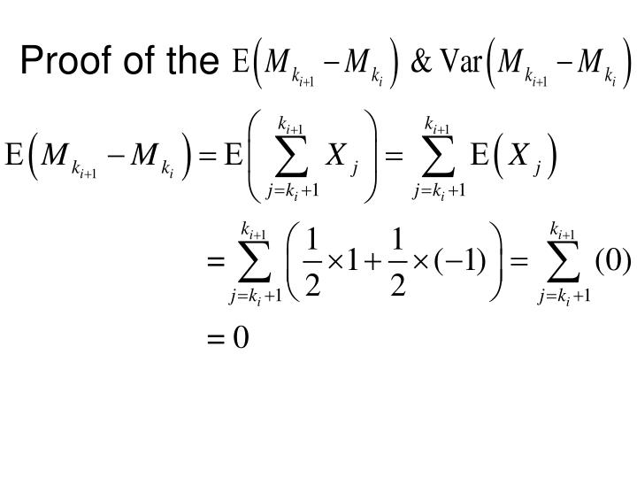 how to find if random process has independent increment