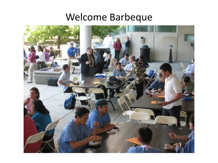 Welcome Barbeque