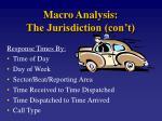 macro analysis the jurisdiction con t2