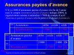 assurances pay es d avance1