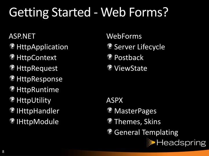 Getting Started - Web