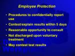 employee protection