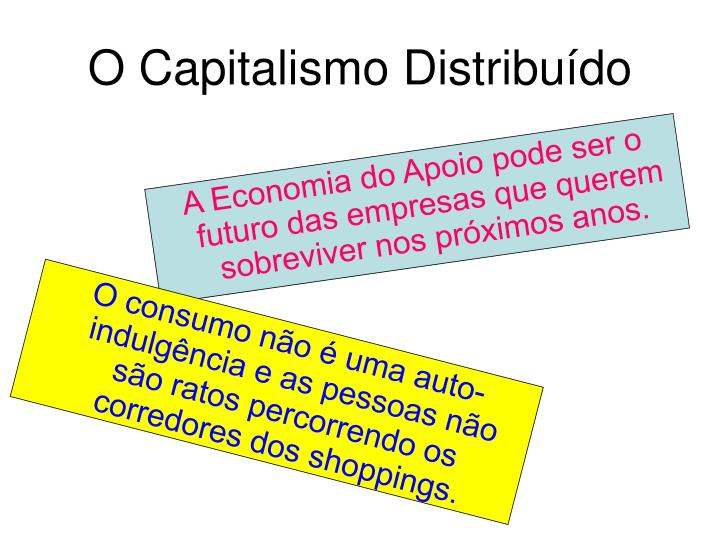 O Capitalismo Distribuído