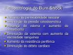 fisiopatologia do burn shock