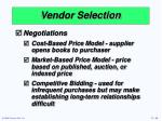 vendor selection1