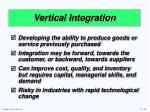 vertical integration1