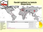 handel meblami na wiecie eksporterzy