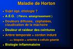 maladie de horton1