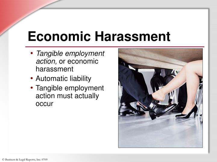 Economic Harassment