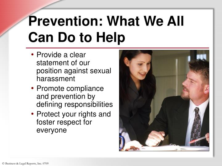 Prevention: What We All Can Do to Help