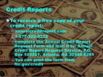 credit reports1