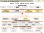 mapa del cluster de aceite de oliva de chile