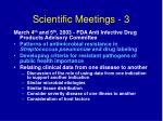 scientific meetings 3